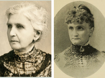 Emmeline B. Wells and Angie F. Newman