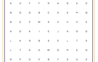 Word Search: Beginner