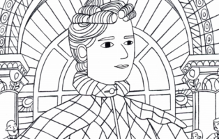 Coloring Page: Martha Hughes Cannon