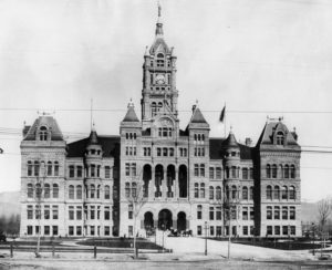 City and County Building, Salt Lake City, 1895.