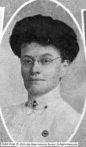 Photo of a woman wearing glasses