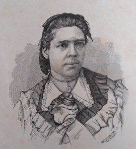 Sketch of Jennie Anderson Froiseth from her book, Women in Mormonism