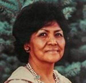 Headshot of Mae in her older years
