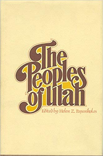 "The cover of, ""The Peoples of Utah,"" which was edited by Helen."