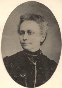 Woman looking left.