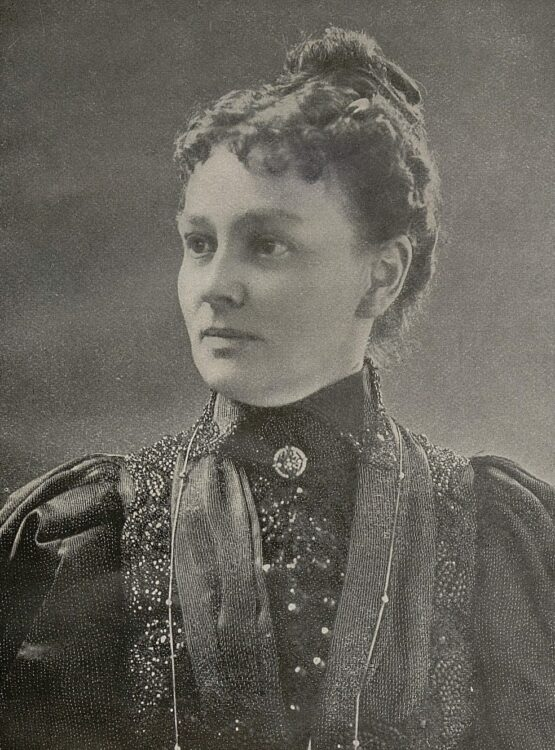 Photograph of a Eurithe LaBarthe looking left