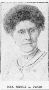 Photo of Jennie L. Jones wearing glasses.