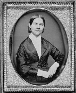 Portrait of Lucy Stone.