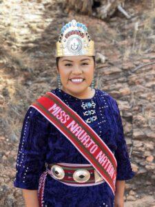 2019-2020 Miss Navajo Nation Shaandiin Parrish.